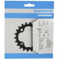 Shimano převodník Alivio FC-M4050 22z Y1PK22000