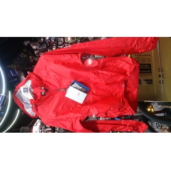 Agu Jacket Light waterproof red XXL