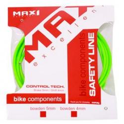 bowden MAX1 5mm fluo zelená balení 3m