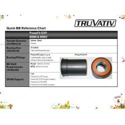 OSA TRUVATIV GXP TEAM PRESSFIT ROAD BB86