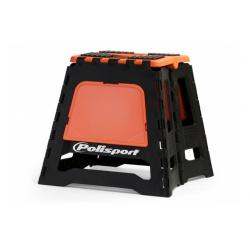 Polisport stojan pod motorku oranžový