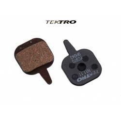 Brzdové destičky TK-N11.11 - IO (2ks) černá