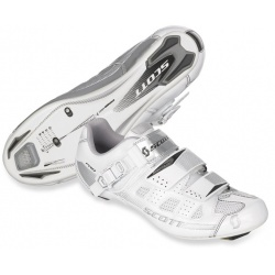 Scott Road Pro Lady white/silver gloss 38