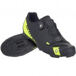 Scott MTB Future Pro matt black/sulphuryellow 35 dětská cyklistická obuv