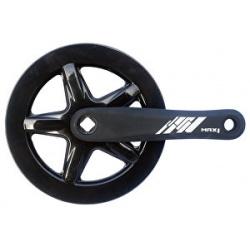 Kliky MAX1 Single 40z 152mm černé s krytem