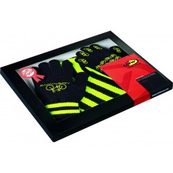 Northwave Gift Pack black-yellow fluo