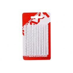 Bezpečnostní odrazky na dráty MAX1 Seku-Clip stříbrné